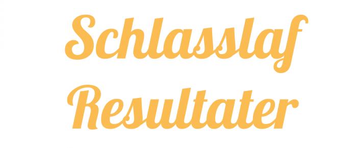 Résultats Schlasslaf 2014